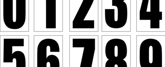 Čísla+jména Pozor!!!!